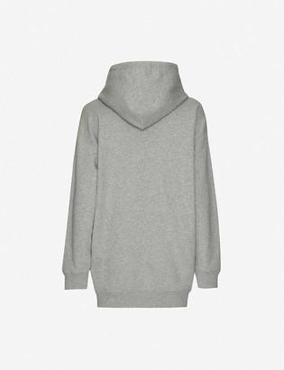 BAPE College Swarovski-embellished cotton-jersey hoody