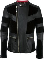 Philipp Plein 'Alder' leather jacket