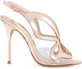 Sophia Webster laser cut sandals - women - Leather - 35