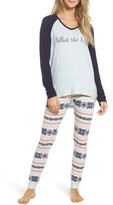 Make + Model Women's Snow Day Graphic Pajamas