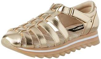 GIOSEPPO Women's 49131 Low-Top Sneakers, Gold Oro