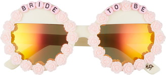 Rad + Refined Bride To Be Round Sunglasses
