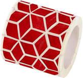 Mela Artisans Starshine Napkin Ring - Marsala Red