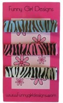 Funny Girl Designs Print Hair Clip Set