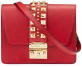Mario Valentino Valentino By Benedicte Spiked Leather Crossbody Bag
