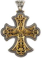 Konstantino Flared Cross Pendant