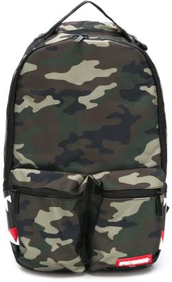 Sprayground Double cargo side shark backpack