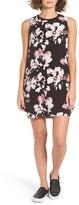 RVCA Blake Floral Print Shift Dress