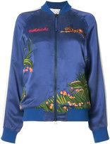 MHI Aube Tour bomber jacket - women - Silk - 10
