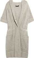 Donna Karan Cashmere and wool-blend oversized cardigan