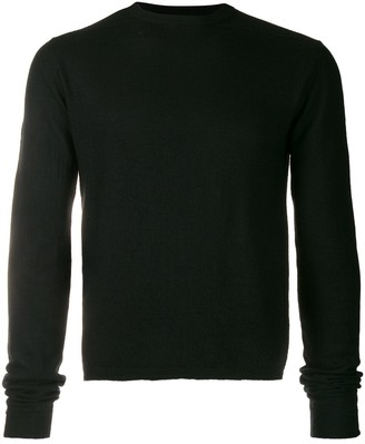 Rick Owens Oversized-Sleeve Knitted Jumper