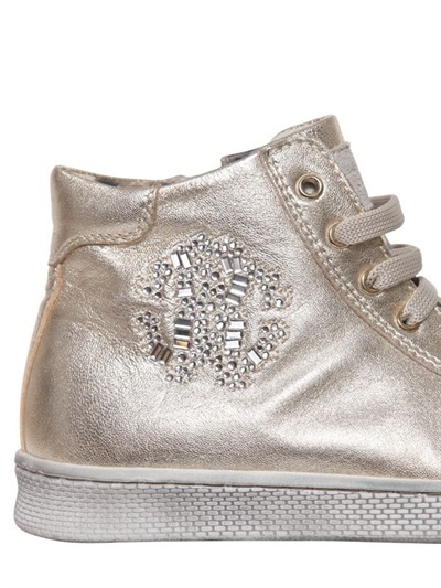 Roberto Cavalli Leather Sneaker
