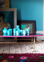 Matthew Williamson Pink Mirror Coffee Table