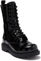 Jeffrey Campbell Kicka Lace-Up Combat Boot