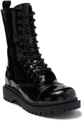 Side Zipper Lace Up Boots Shopstyle