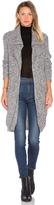 Autumn Cashmere Double Lapel Cardigan