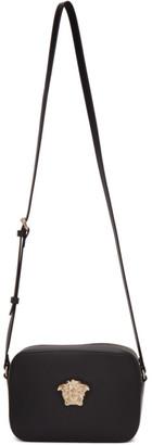 Versace Black and Gold Medusa Camera Bag