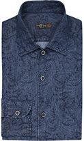 Corneliani Paisley-patterned Cotton Shirt