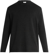 Acne Studios Kicha Side-zip Wool-blend Sweater