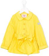 Il Gufo bow trench coat - kids - Nylon/Polyamide/Polyester - 2 yrs