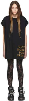Gucci Black Sequin Homme Pour Femme T-Shirt