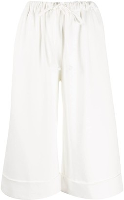 Simone Rocha Tied Cropped Trousers