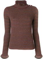 See by Chloe slim-fit ruffled collar top