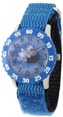 Disney Frozen 2 Olaf Boys' Stainless Steel Watch, 1-Pack