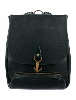 Louis Vuitton Taiga Cassiar Backpack green