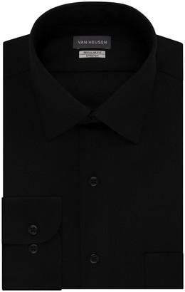 Van Heusen Big & Tall Fit Stretch Sateen Dress Shirt