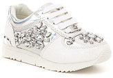 MICHAEL Michael Kors Girls' Allie Cori Jeweled Sneakers