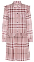 Burberry Isaline Abizt plaid cotton dress
