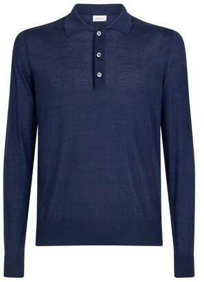 Brioni Cashmere-Vicuna Polo Shirt