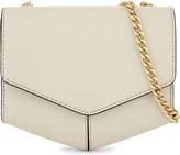 Sandro Lou leather envelope clutch