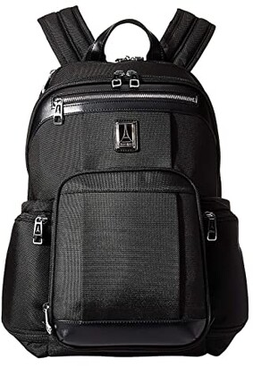 Travelpro Platinum(r) Elite - Business Backpack (Shadow Black) Backpack Bags