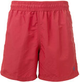 Polo Ralph Lauren logo embroidered swim shorts - men - Nylon/Polyester - S
