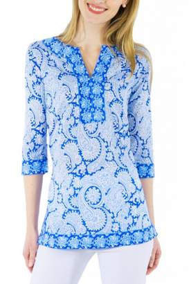 Gretchen Scott Plentiful Paisley Tunic