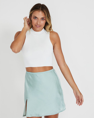 Alice In The Eve Bettsy High Neck Knit Top