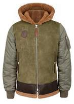 Schott Nyc Lb-10 Leather And Shell Jacket