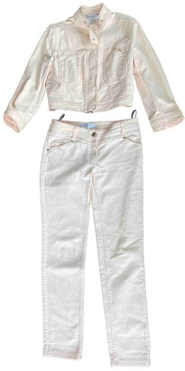 Christian Dior Pink Denim - Jeans Jumpsuits