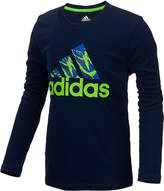 adidas ClimaLite Logo Graphic-Print Shirt, Toddler Boys (2T-5T)