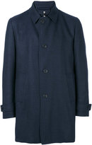 Corneliani single breasted coat - men - Polyamide/Polyester/Virgin Wool - 48