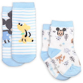 Disney Mickey Mouse Sock Set for Baby - 2-Pack