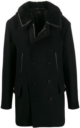 Tom Ford velvet collar double breasted coat