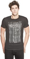 GUESS Barcode Graphic Tee