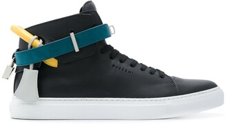 Buscemi Straped Hi-Top Sneakers
