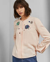 Ted Baker KALIONA Embroidered shirt