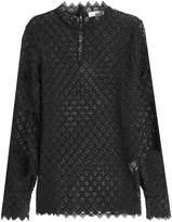 IRO Crochet Lace Top