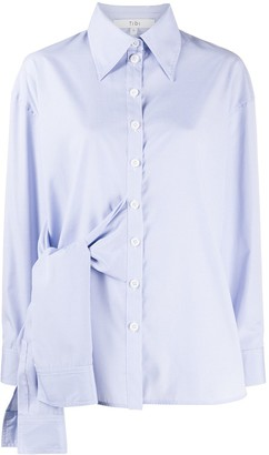 Tibi Isabelle tie-front shirt