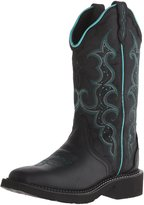 """Justin Boots Women's Gypsy Collection 12"""",-BLACK"""